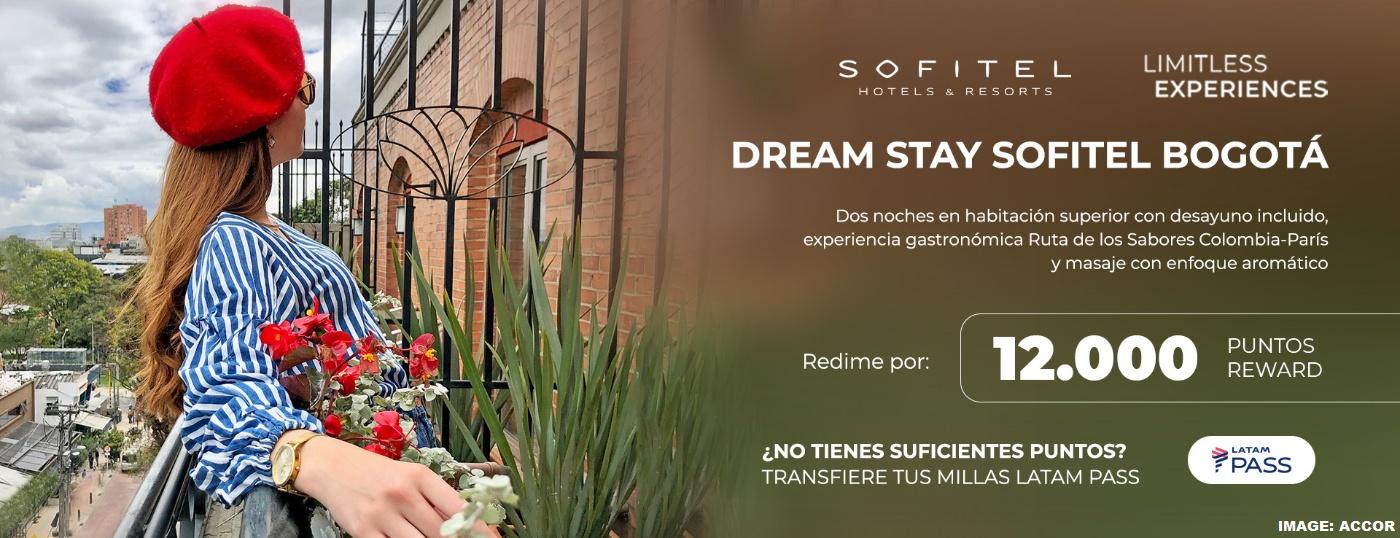 Accor ALL Sofitel Bogota Redemption Offer Through December 15, 2021