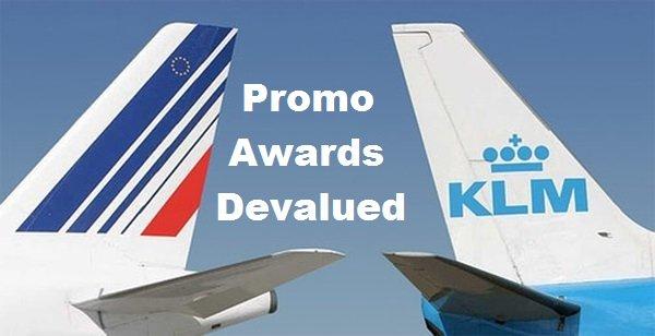 air france klm flying blue promo awards devalued loyaltylobby. Black Bedroom Furniture Sets. Home Design Ideas