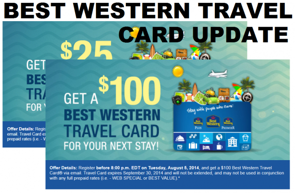 best western cards