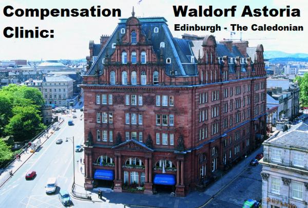 Compensation Clinic  Waldorf Astoria Edinburgh  U2013 The