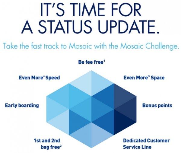 Jetblue Trueblue Mosaic Status Challenge Amp Match