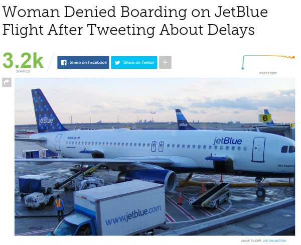 jetblue crew boots passenger because of her tweets loyaltylobby