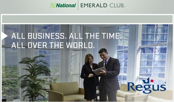 Complimentary Regus Businessworld Preferred Membership For