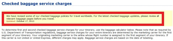 aff4d48d16 United Airlines Reduces Star Alliance Gold Checked Baggage Allowance ...
